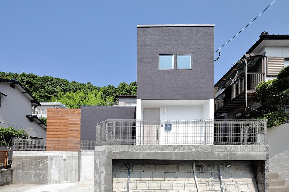 白と黒のお家01